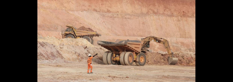 Hydraulisk løsning for gullgruve i Vest-Afrika